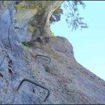 Ferrata dei Piceni 12 brackets and traverse