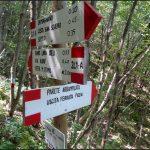 Ferrata dei Piceni 13 exit signs