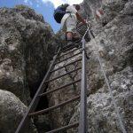 Ferrata della Pace 15 ladder