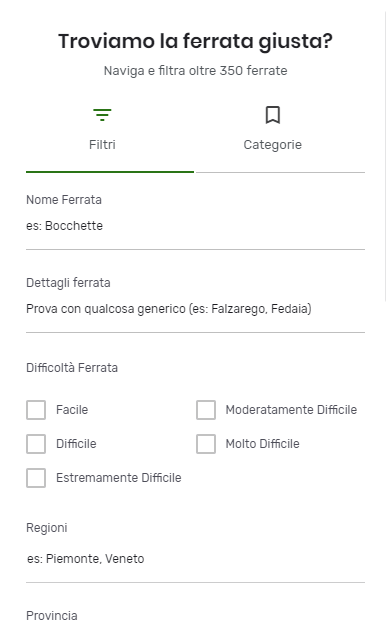 Relations Filters