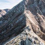 Groppi Camporaghena Monte Alto ridge