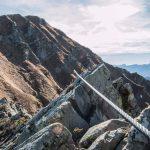 Groppi Camporaghena Monte Alto sentiero attrezzato di cresta