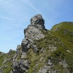 Groppi Camporaghena Monte Alto torrione in discesa verso il passo di pietratagliata