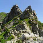 Groppi Camporaghena Monte Alto torrione verso Alpe Succiso