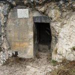 Entrance to the Galleria Ferrata Cima Rocca