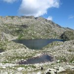 Lago Sentiero Bozzetto