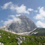 Mangart dal lato sloveno