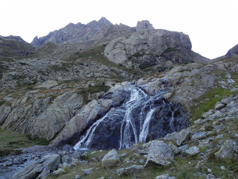 Pizzo Recastello and Cascata