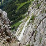 Ascent to Passo delle Palete