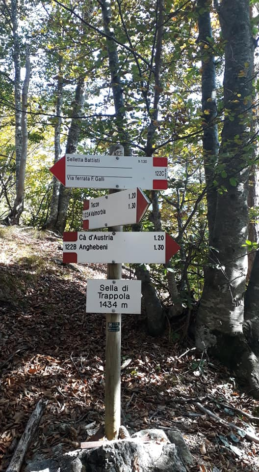 Equipped trail Franco Galli 1