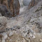 Sentiero Attrezzato Gusella 14 da forcella stephen
