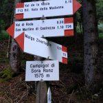 Sentiero Attrezzato Gusella 19 rientro