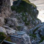 Sentiero Attrezzato Leva 13 scala