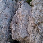 Sentiero Attrezzato Leva 26 scala