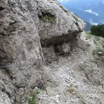 Aided Path Olivato Miaron 11 aided ledges