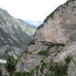 Aided path Olivato Miaron 20 ledges crossed