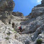 Sentiero Attrezzato Val Scarettone 7 verso Bocche Giardino