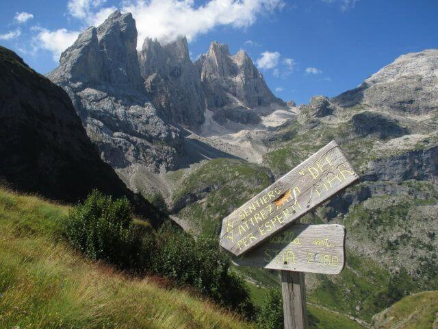 Equipped path of the Mar - Forcella Stia