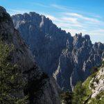 Sentiero Attrezzato della Val Cassina 1 Vista sulla Grignetta