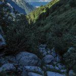 Aided path of Val Cassina 15 towards val meria