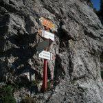 Sentiero Attrezzato della Val Cassina 6 Bivio