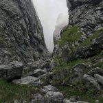 Sentiero Attrezzato della Val Cassina 7 inizio canalone