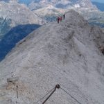 Aided path Dibona Cresta