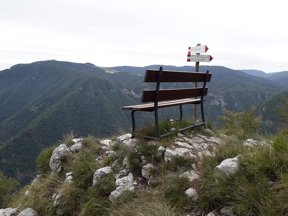 Sentiero Pierino Zuanna Panchina