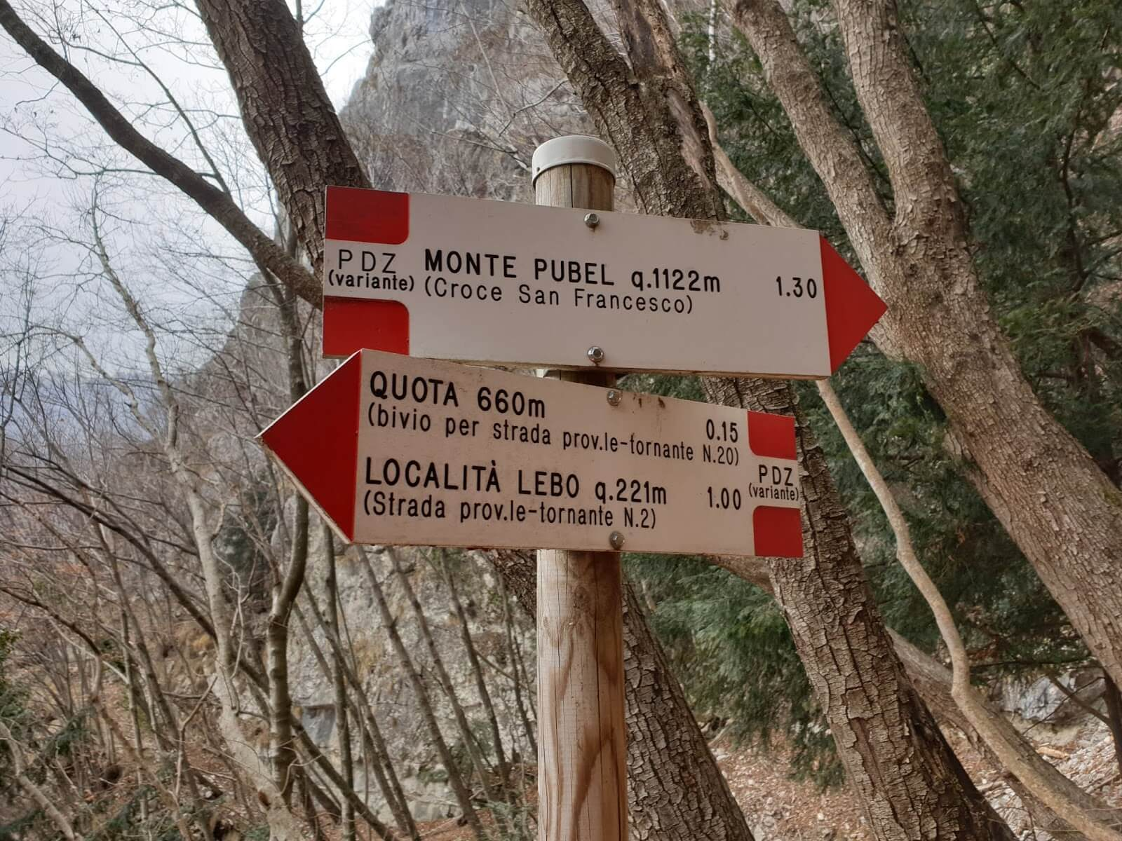 Sentiero Pierino Zuanna rientro 3