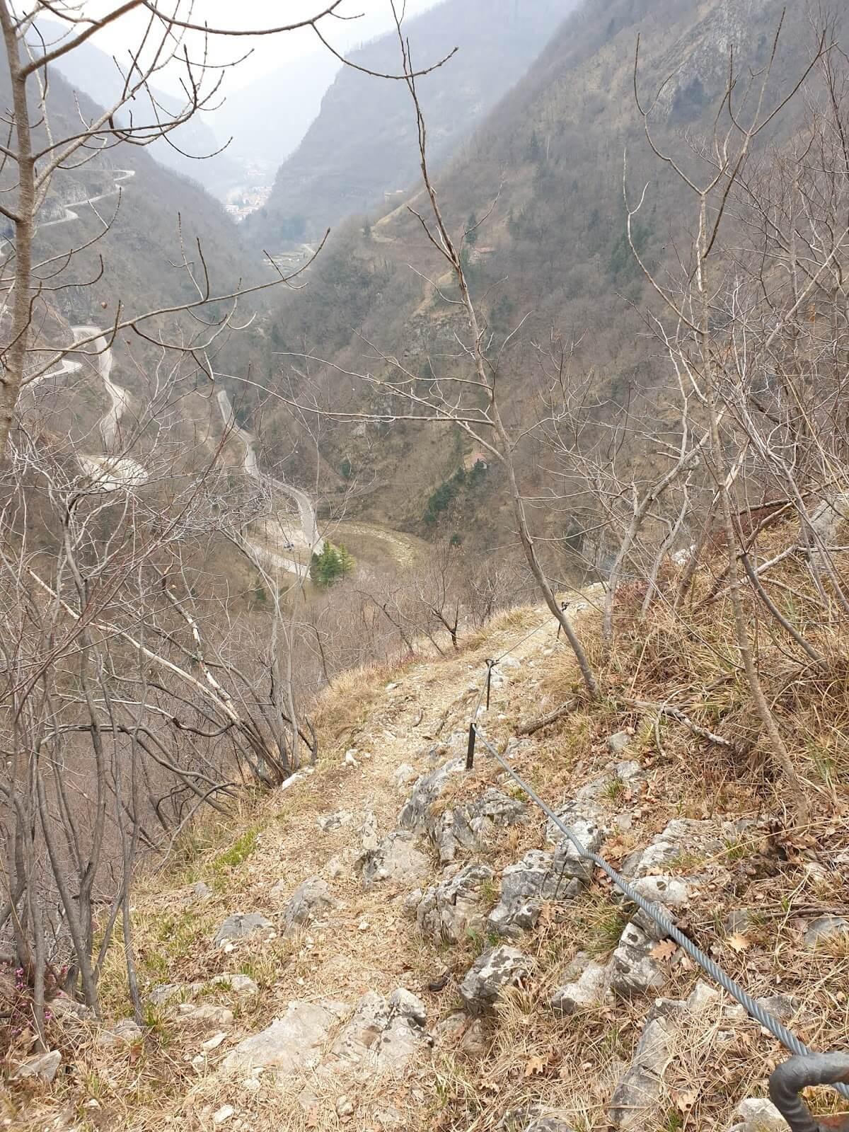 Sentiero Pierino Zuanna rientro 4