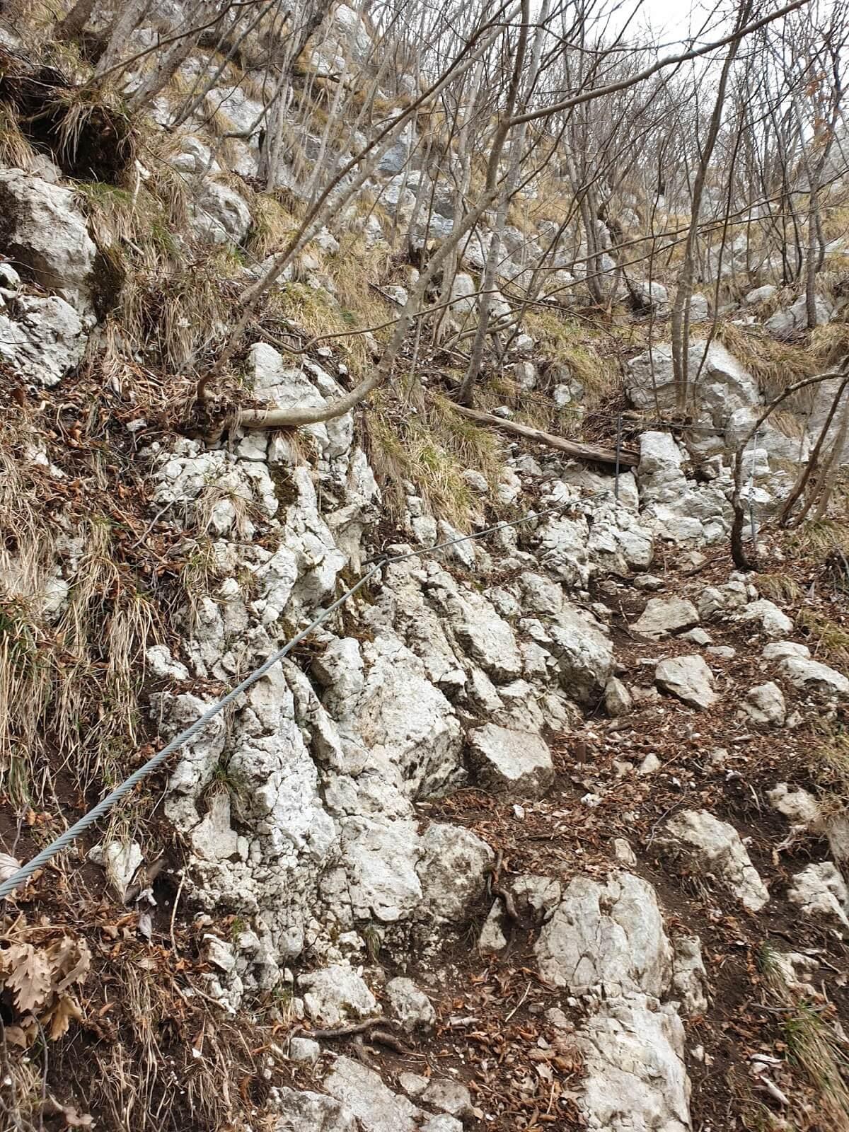 Sentiero Pierino Zuanna tratti attrezzati2