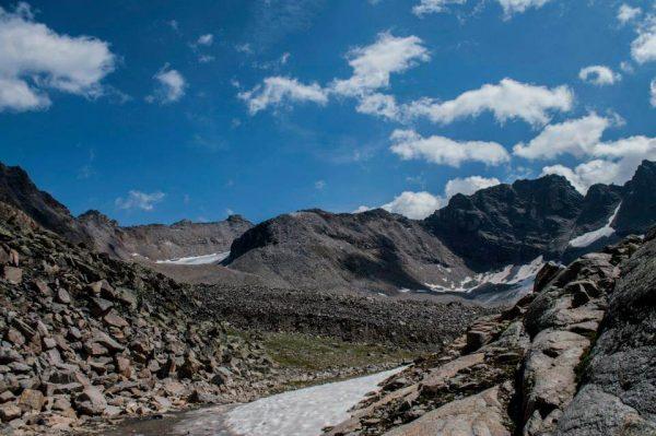 Approaching Trail Croda di Cengles 2
