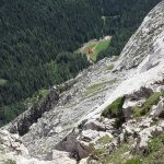 winkel hut from the Alta Via cai pontebba