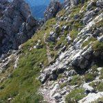 esposto sentiero mezzacosta alta via cai pontebba